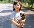 タイトル:少女とイヌ