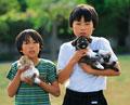 タイトル:少年とペット