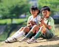 タイトル:子供とペット