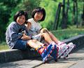 タイトル:少女とペット