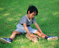 タイトル:少年とウサギ