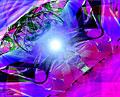 タイトル:抽象イメージ(CG)