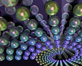 タイトル:素粒子イメージ(CG)