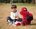 タイトル:男の子と女の子