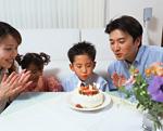 家族で誕生日