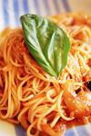トマトソースのスパゲティ