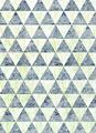 タイトル:銀箔紋様