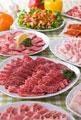 タイトル:焼肉用精肉集合
