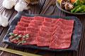 タイトル:焼肉用精肉 霜降り牛モモ肉