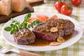 タイトル:牛ヒレ肉のステーキ