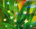 タイトル:光る蝶