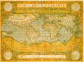 タイトル:古い世界地図