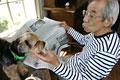 タイトル:犬とおじいさん