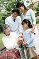 タイトル:お見舞にきた家族