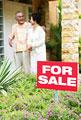 タイトル:家を探す夫婦