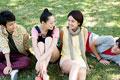 タイトル:日本人男女グループ
