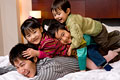 タイトル:親子ポートレート