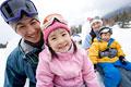 タイトル:冬のファミリーポートレート