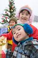 タイトル:クリスマスプレゼントとキッズ