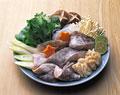 タイトル:タラチリ鍋の食材
