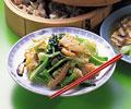 タイトル:青梗菜の炒め物