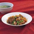 タイトル:鶏カルビの炒め物