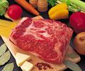 タイトル:ステーキ用の牛肉ブロックロース