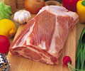 タイトル:ステーキ用の豚肉ブロック