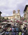 タイトル:ローマのスペイン広場