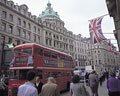 タイトル:ロンドンのリージェント通り
