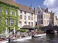 タイトル:ブルージュの運河