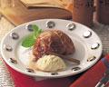 タイトル:焼きりんごとバニラアイス
