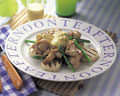 タイトル:グリルチキンと山芋のサラダ