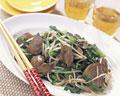タイトル:ニラと鶏レバーの炒め物