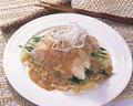 タイトル:ゆで鶏の四川風ゴマソース