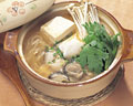 タイトル:牡蠣と豆腐の味噌鍋