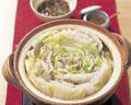 タイトル:白菜と豚肉の鍋
