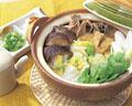 タイトル:冬の旬菜鍋