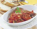 タイトル:イワシのトマト煮込み