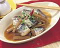 タイトル:イワシとごぼうの煮物
