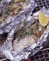 タイトル:白身魚とキノコの香草ホイル焼き