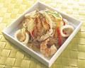 タイトル:魚介のチャプチェ