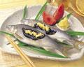 タイトル:鮎の酢蒸し