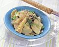 タイトル:タケノコのサラダ