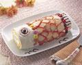 タイトル:鯉のぼりのロールケーキ