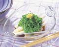 タイトル:オクラと長芋の酢の物