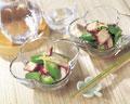 タイトル:タコとオクラの酢の物