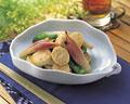 タイトル:長芋と夏野菜の焼きびたし