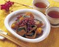 タイトル:カボチャの小倉煮