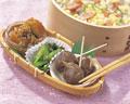 タイトル:おかず3品とちらし寿司弁当